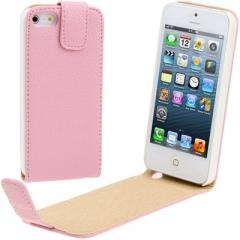 Чехол - книжка для iPhone 5S розовый