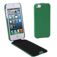 Чехол - книжка Melkco для iPhone 5 зеленый