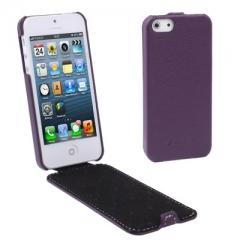 Чехол - книжка Melkco для iPhone 5 фиолетовый
