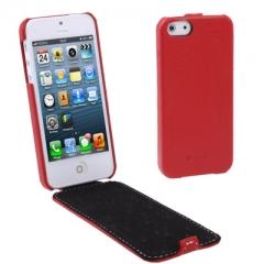 Чехол - книжка Melkco для iPhone 5S красный