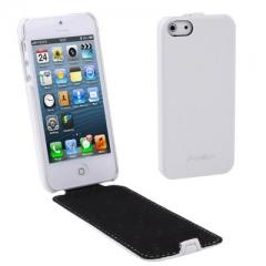 Чехол - книжка Melkco для iPhone 5S белый