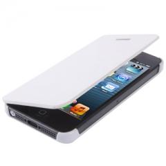 Чехол - книжка Flip Case для iPhone 5 белый