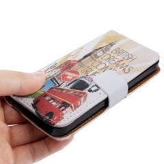 Чехол книжка для iPhone 5 Лондон2
