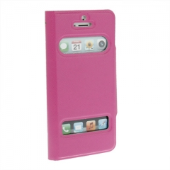 Чехол - книжка Flip Case для iPhone 5 розовый