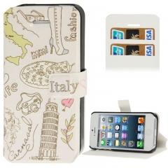 Чехол книжка Italy для iPhone 5S
