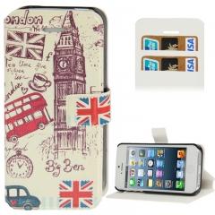 Чехол книжка London для iPhone 5S