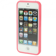 Бампер для iPhone 5 розовый