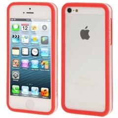 Бампер для iPhone 5 красный