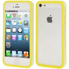 Бампер для iPhone 5 желтый