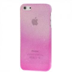 Чехол градиент для iPhone 5S розовый