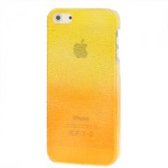 Чехол градиент для iPhone 5S желто-оранжевый