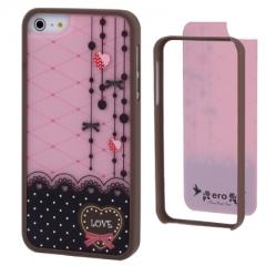 Чехол Ero для iPhone 5S розовый