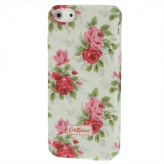 Чехол Cath Kidston для iPhone 5 с цветами салатовый