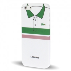 Чехол Lacoste для iPhone 5S зеленая