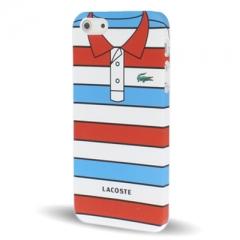 Чехол Lacoste для iPhone 5 красный