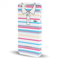 Чехол Lacoste для iPhone 5 в полосочку