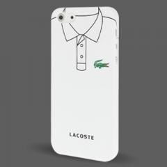 Чехол Lacoste для iPhone 5 белый
