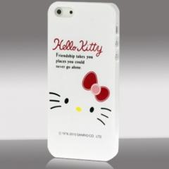Чехол для iPhone 5 Hello Kitty белый