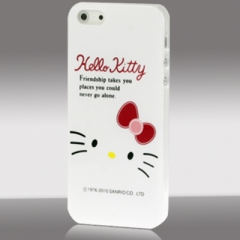 Чехол для iPhone 5 Hello Kitty белый
