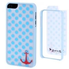 Чехол Ero для iPhone 5S голубой