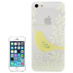 Чехол для iPhone 5 желтая птичка