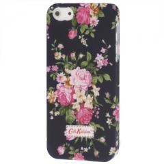 Чехол Cath Kidston для iPhone 5 с цветами черный