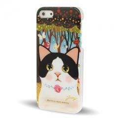 Чехол Jetoy для iPhone 5S с котиком