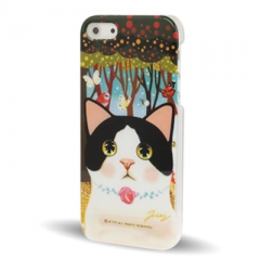 Чехол Jetoy для iPhone 5 с котиком