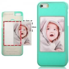 Чехол с Фото для iPhone 5 зеленый