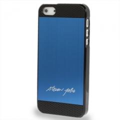 Чехол Steven Jobs для iPhone 5 синий