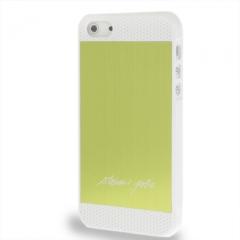 Чехол Steven Jobs для iPhone 5 салатовый