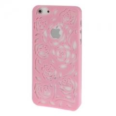 Чехол Rose для iPhone 5S розовый