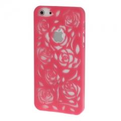 Чехол Rose для iPhone 5S малиновый