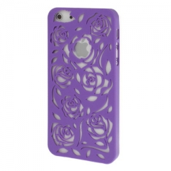Чехол Rose для iPhone 5S фиолетовый