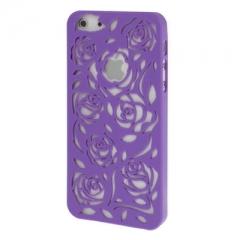 Чехол Rose для iPhone 5 фиолетовый