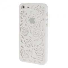Чехол Rose для iPhone 5 белый