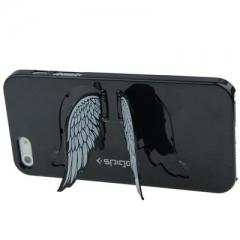 Чехол SGP Крылья Ангела для iPhone 5S черный