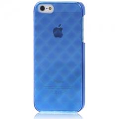 Пластиковый чехол 3D для iPhone 5 синий