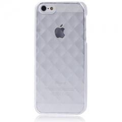 Пластиковый чехол 3D для iPhone 5 прозрачный