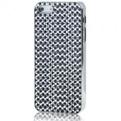 Чехол для iPhone 5S со Стразами черный
