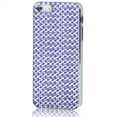 Чехол для iPhone 5 со Стразами фиолетовый