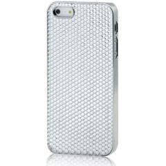 Чехол для iPhone 5 со Стразами белый