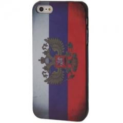 Чехол флаг России для iPhone 5