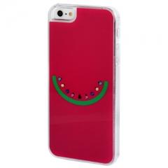 Чехол Арбузик для iPhone 5 со стразами
