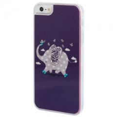 Чехол Слоник для iPhone 5 со стразами