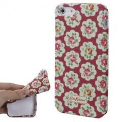 Чехол Cath Kidston для iPhone 5S красный