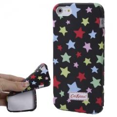 Чехол Cath Kidston для iPhone 5S со звездочками черный