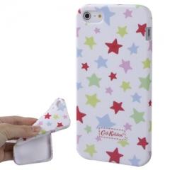 Чехол Cath Kidston для iPhone 5 со звездочками белый