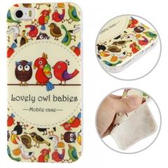 Чехол силиконовый Птички 2 для iPhone 5