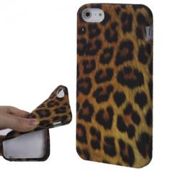Чехол Леопардовый для iPhone 5